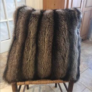 Other - Fox Fur Pillow